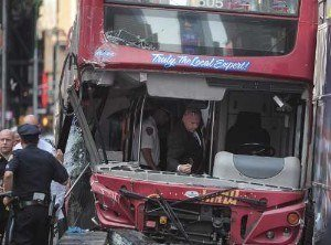 Most Common Bus Accidents